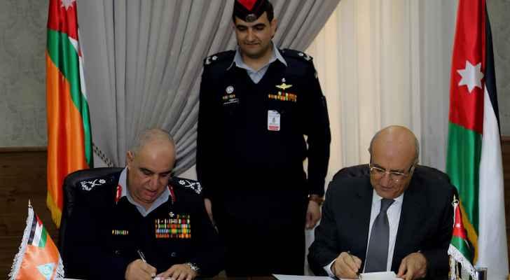 اتفاقية لانشاء مركز دفاع مدني في المنطقة الحرة