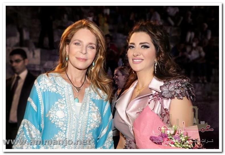 زين عوض لــ عمان جو أتشرف بالغناء امام صاحبة الجلالة الملكة نور الحسين