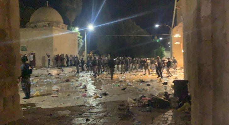 الأردن: اعتداءات الاحتلال الإسرائيلي الصارخة بحق المسجد الأقصى همجية ومرفوضة