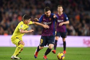 برشلونة يعود للانتصارات بسحق فياريال