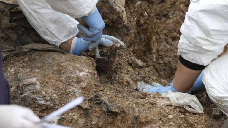إكتشاف مقبرة جماعية جديدة لضحايا مجزرة سربرنيتسا في منجم ساسا