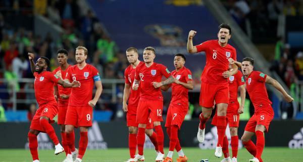 ركلات الترجيح تبتسم أخيرا لإنجلترا على حساب كولومبيا
