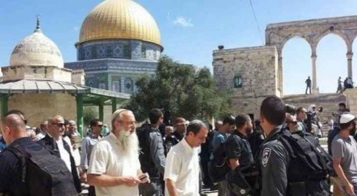 مستوطنون يقتحمون المسجد الاقصى بأول ايام شهر رمضان