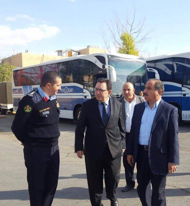 الامن العام و جت لنقل الركاب تطلقان خدمة الحجز المسبق للسفر عبر جسر الملك حسين
