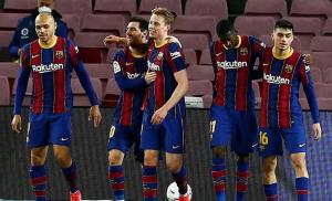 برشلونة يستعد لإشبيلية في غياب 6 لاعبين