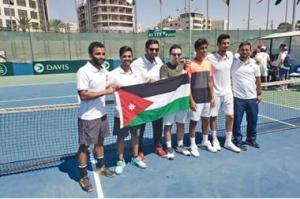 منتخب التنس يفوز على عُمان ويتأهل للمستوى الثالث بكأس ديفيز