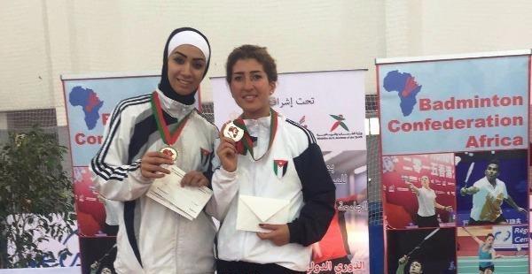 الأردن تحرز فضيتين ببطولة المغرب الدولية للريشة الطائرة