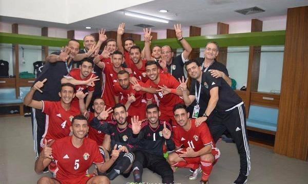 منتخب الأردن يتأهل لنهائيات آسيا لكرة الصالات