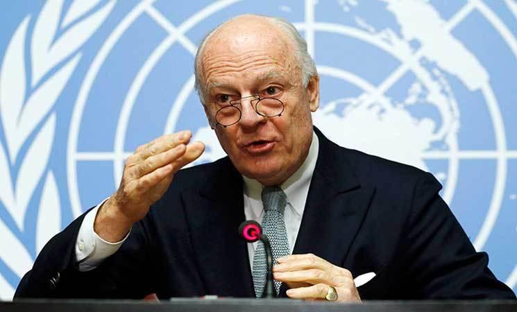 الأمم المتحدة تضع اللمسات النهائية على قائمة المشاركين بمحادثات سوريا