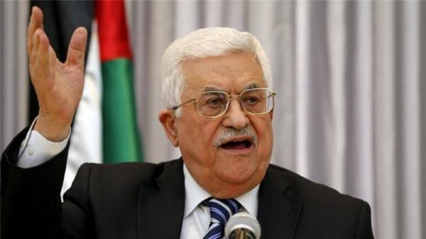 عباس يؤكد للرئيس الاسرائيلي ضرورة تحقيق التهدئة الشاملة