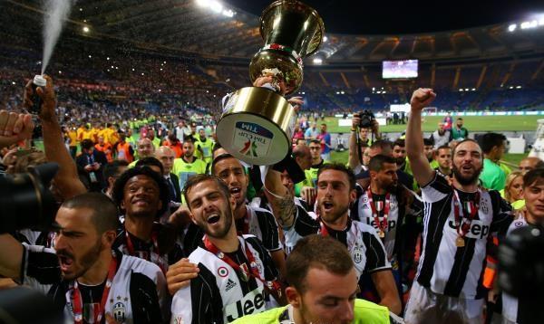 يوفنتوس يحقق رقمًا قياسيًا بتتويجه بطلًا لكأس إيطاليا