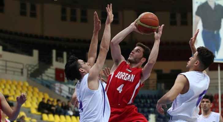 فوز جديد لمنتخب الشباب لكرة السلة في بطولة غرب اسيا