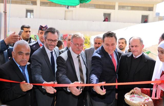 االأستاذ سامي السلايطة يفتتح توسعة مدرسة حي أبو صياح الأساسية للبنات