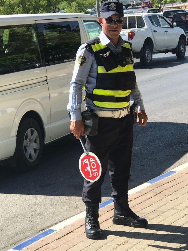 الأمن يجري تعديلات على لباس رقباء السير ..  صورة