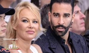 باميلا أندرسون تعلن انفصالها عن لاعب كرة القدم الفرنسي عادل رامي