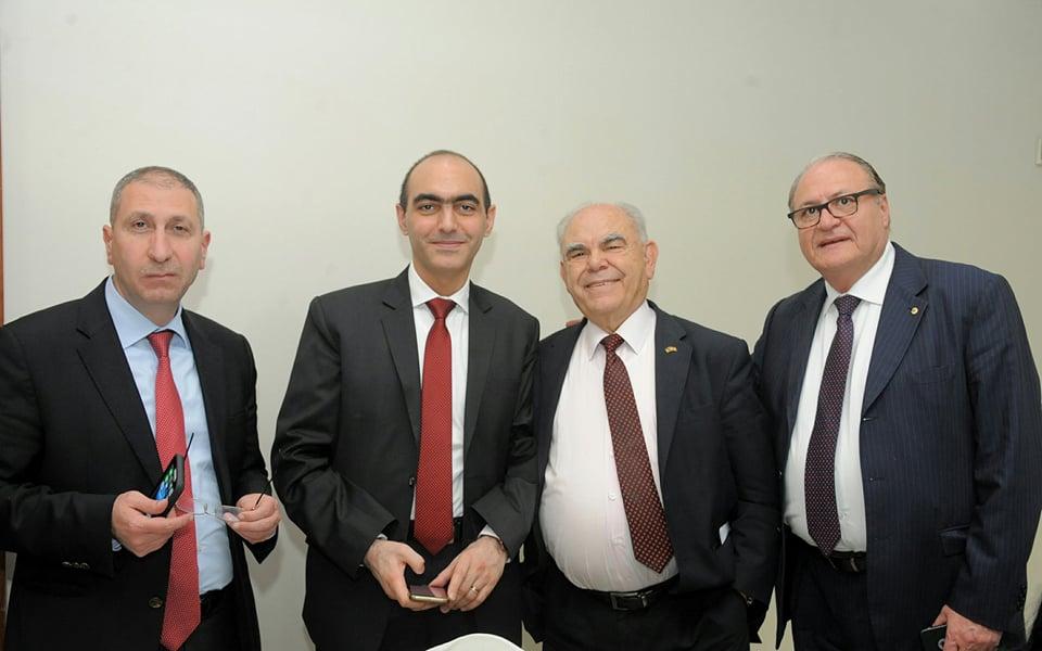 لجنة الجالية اللبنانية في عمان تقيم حفل غداء على شرف المستشار السيد جورج فاضل