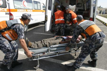 الدفاع المدني يتعامل مع 118 حادثا مختلفا