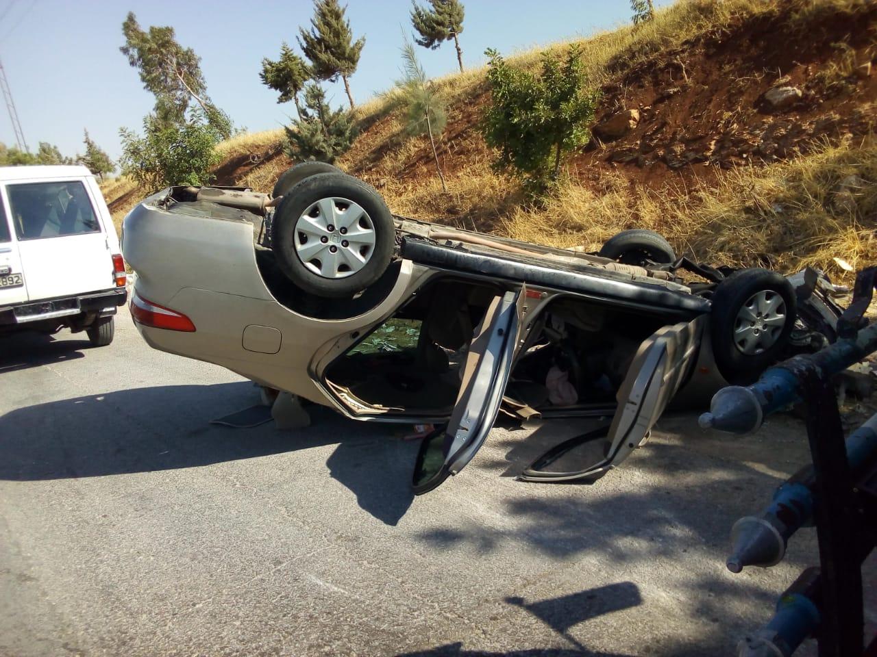 13 إصابة بحادثي في اربد والمفرق