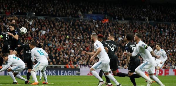 ريال مدريد يثور في الدقائق الأخيرة ويفوز على باريس سان جيرمان