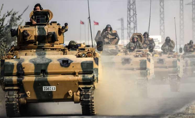 الجيش التركي يعلن اقترابه من السيطرة على مدينة الباب السورية