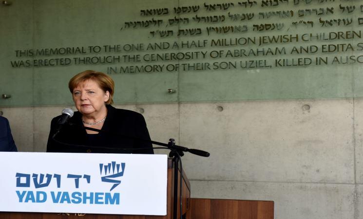 ميركل تجري محادثات في إسرائيل وسط خلافات بشأن إيران والفلسطينيين