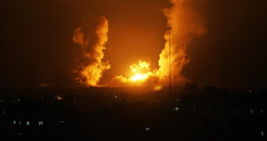 في أول ليالي رمضان ..  قصف إسرائيلي لشمال غزة