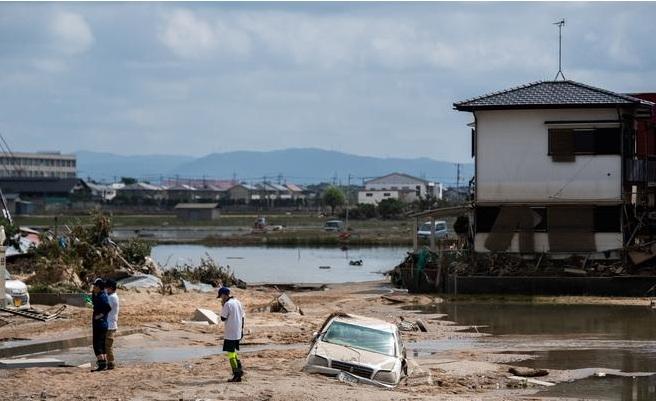 قتلى الأمطار في اليابان أصبحوا 179