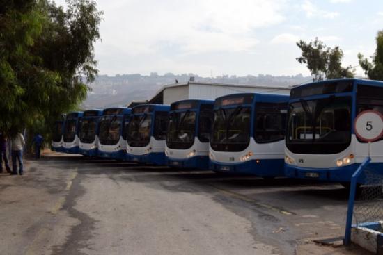 """""""المتكاملة"""" تشغل مسارات النقل الحضري في اربد"""