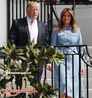 ميلانيا ترامب تختار الأزرق لاحتفالات عيد الفصح