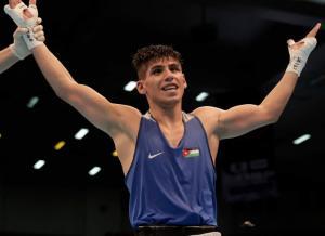 الأردني عشيش يواصل انتصاراته في بطولة أوكرانيا للملاكمة