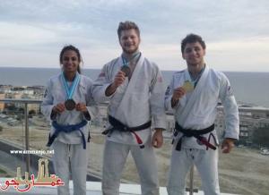 فضيتان وبرونزية للأردن في افتتاح بطولة آسيا للجوجيتسو