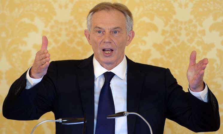 بلير يعتزم حث البريطانيين على إعادة التفكير في الخروج من الاتحاد الأوروبي