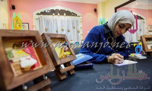 """""""فنّ المصغرات"""" ..  الحياة متناهية الصغر بين يدي فنانة مصرية- (صور)"""