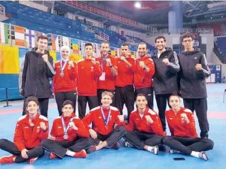 التايكوندو الأردنية تشارك في بطولة اسيا في فيتنام